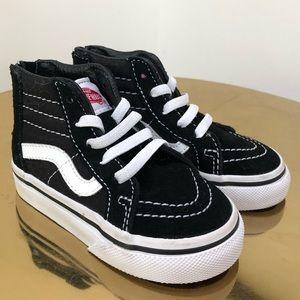 Toddler Sk8-Hi Zip Vans Sneaker